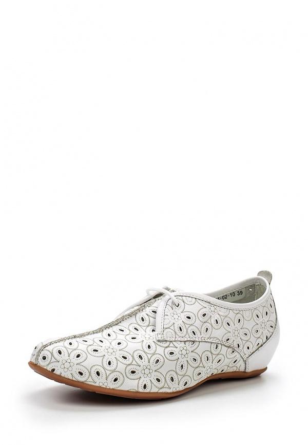 Ботинки SHOIBERG 421-04-02-10 белые