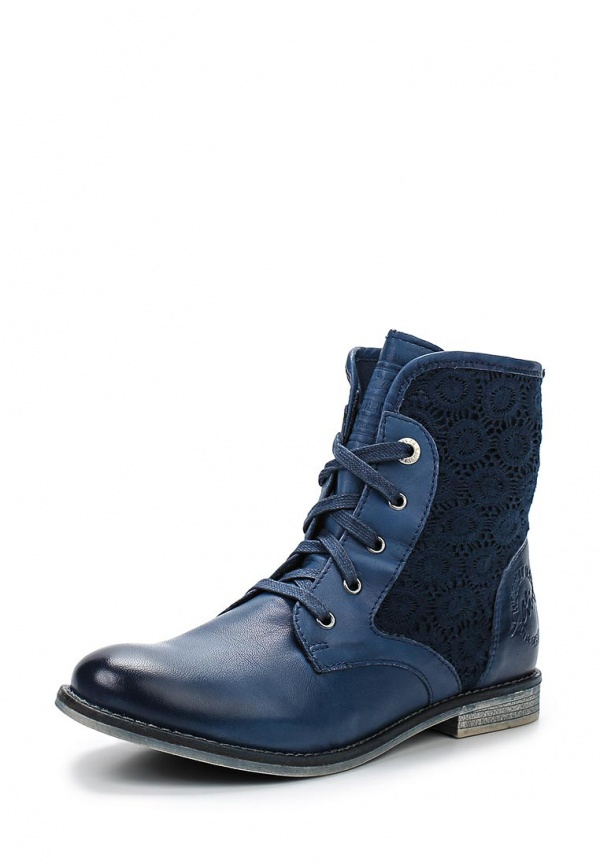 Ботинки s.Oliver 5-5-25201-34 синие