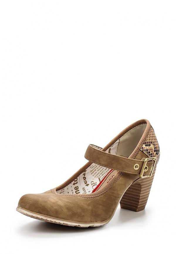 Туфли s.Oliver 5-5-24400-24 бежевые