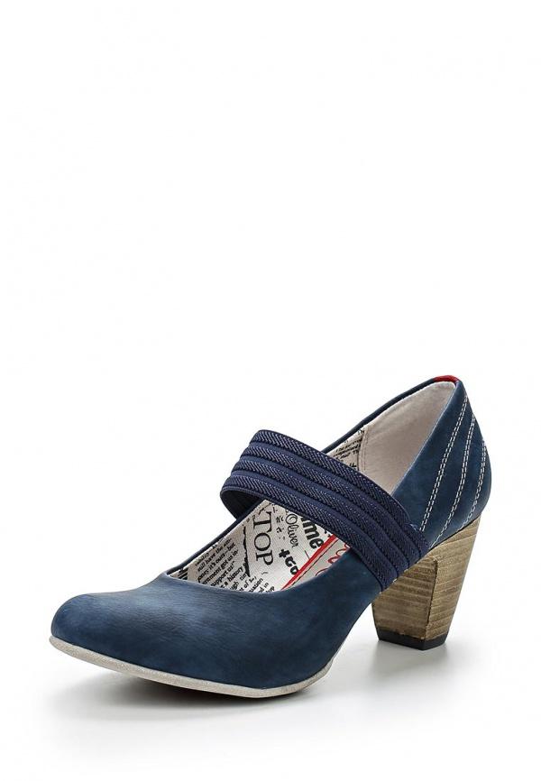Туфли s.Oliver 5-5-24401-24 синие