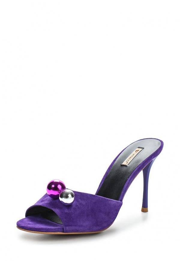 Сабо Vitacci 59897 фиолетовые