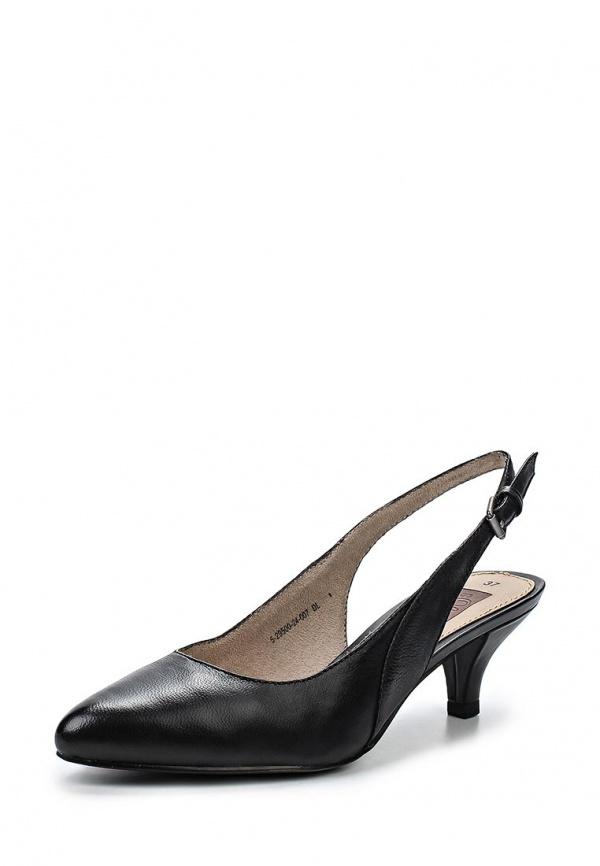 Туфли s.Oliver 5-5-29500-24 чёрные
