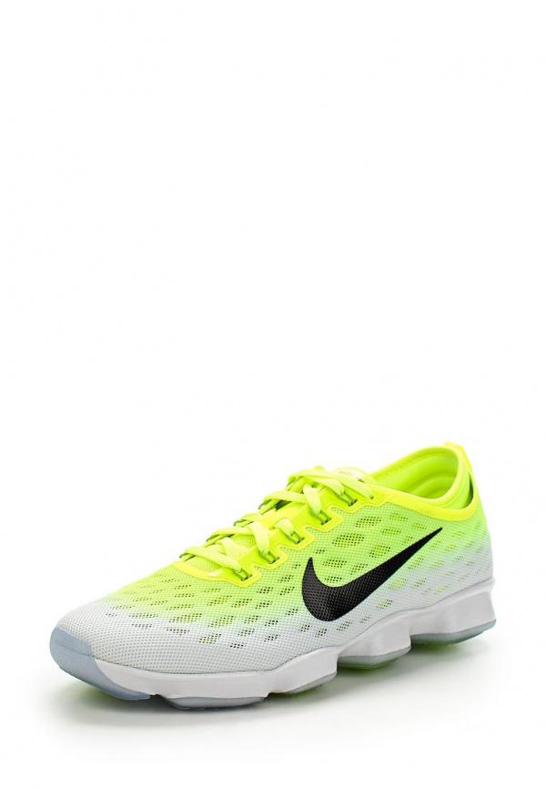 Кроссовки Nike 684984-701 белые, зеленые
