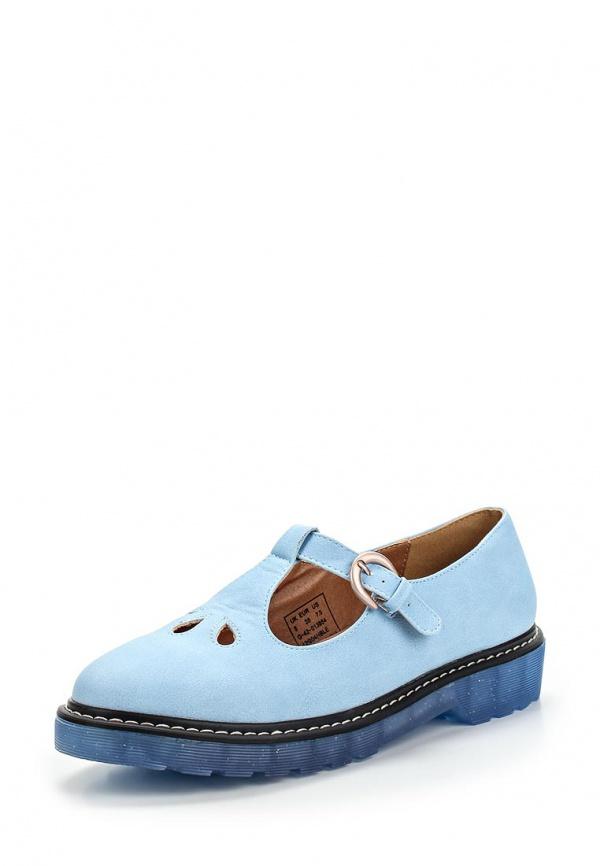 Туфли Topshop 42G04HBLE голубые