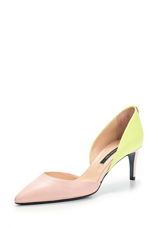 Туфли Patrizia Pepe 2V5545/A1MV/F2GA зеленые, розовые