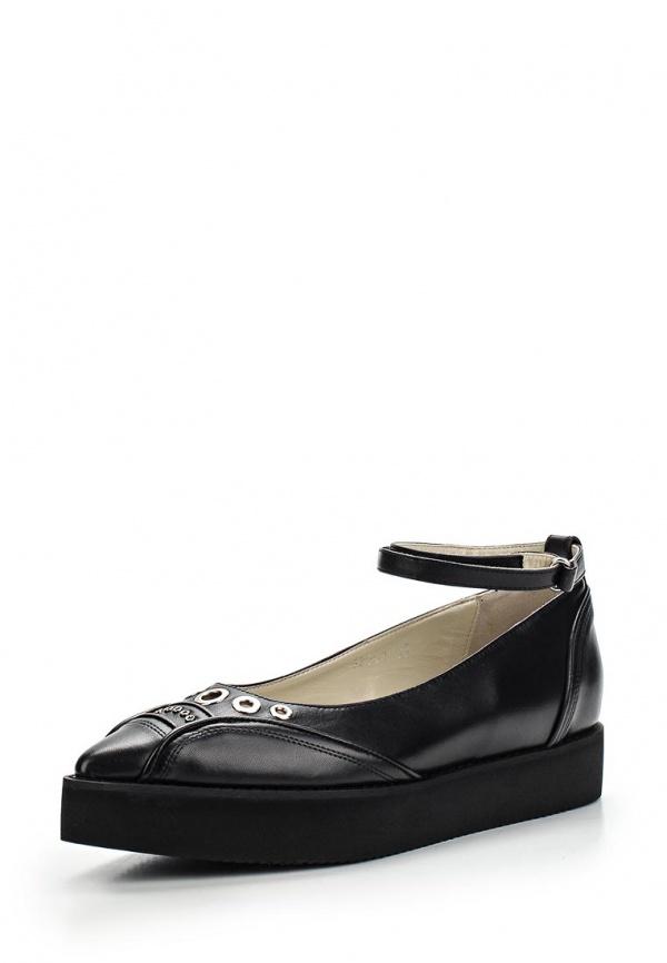Туфли Roberto Botticelli BX17542 чёрные