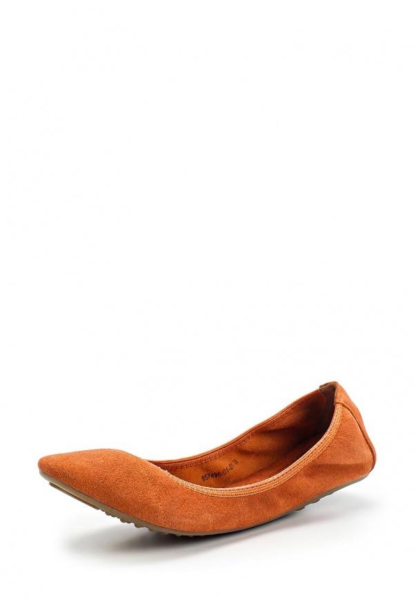 Балетки Betsy 957496/01-01 оранжевые