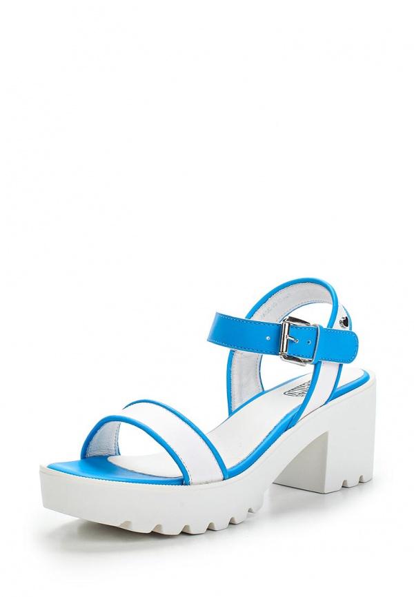 Босоножки Love Moschino JA16277I0KJF110E белые, синие
