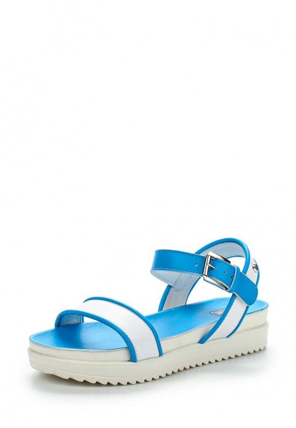 Сандалии Love Moschino JA16374G0KJF110E белые, синие