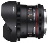Samyang 12mm T3.1 ED AS NCS VDSLR Fish-eye Nikon F