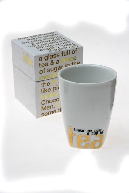 """Сувениры для женщин Красный куб Стакан для чая/кофе """"Кул-2"""""""
