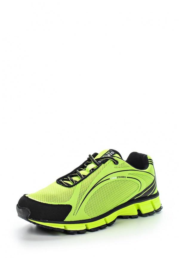 Кроссовки Strobbs C2148-15 жёлтые, чёрные