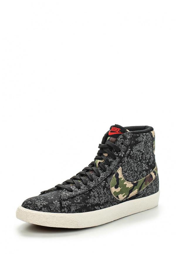 Кеды Nike 638261-009 серые