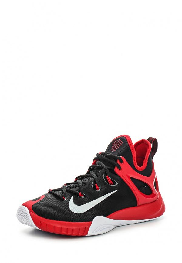 Кроссовки Nike 705370-006 красные, чёрные