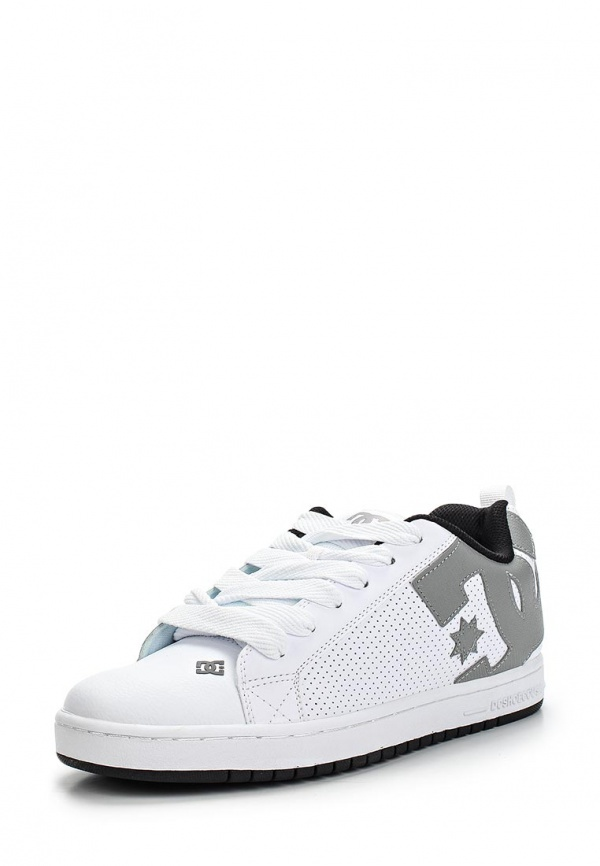 Кеды DC Shoes 300529 белые