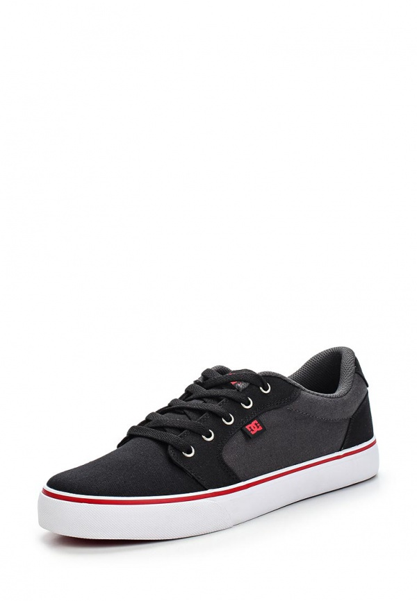 Кеды DC Shoes 320040 серые, чёрные