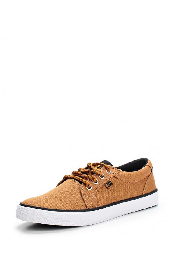 Кеды DC Shoes 320305 коричневые, оранжевые