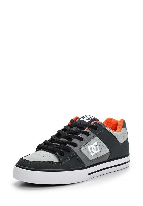 Кеды DC Shoes 300660 серые, чёрные