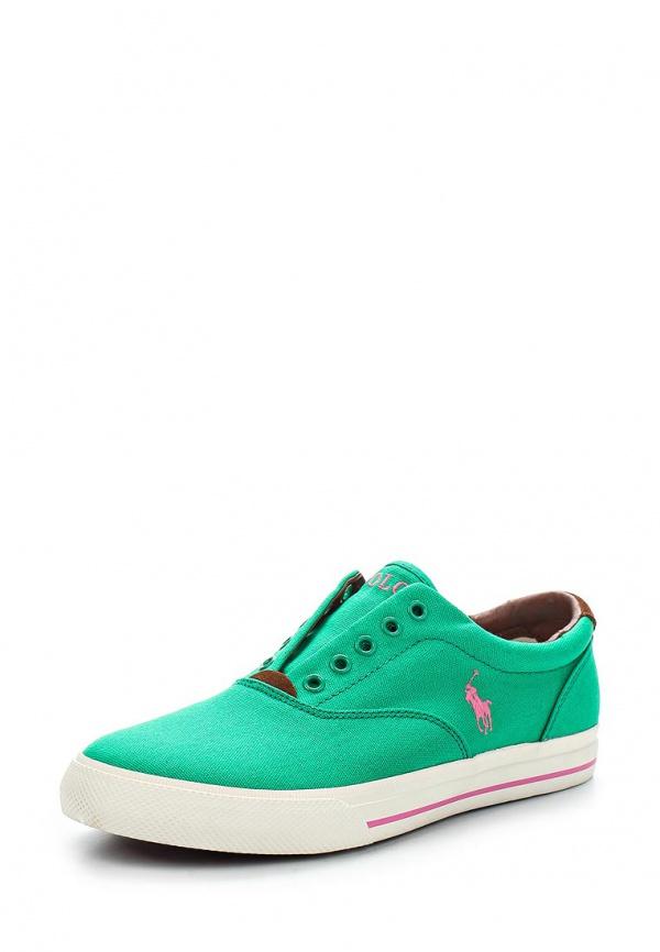 Кеды Polo Ralph Lauren RL2098B9664A3CB2 зеленые