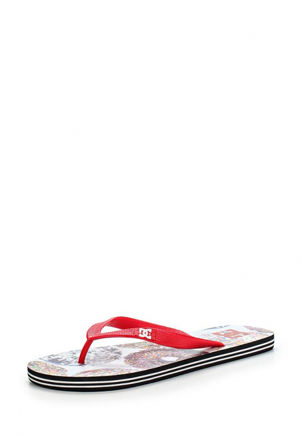 Сланцы DC Shoes 303276 красные