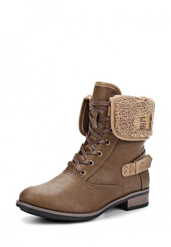 Ботинки Stesso 610-00CC4-1A коричневые