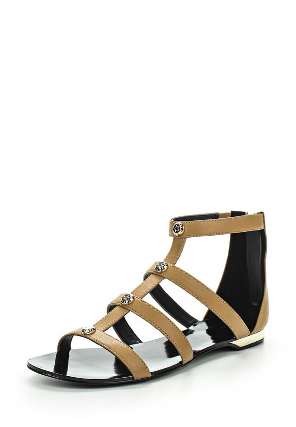 Сандалии Versace Jeans E0VLBS02 бежевые