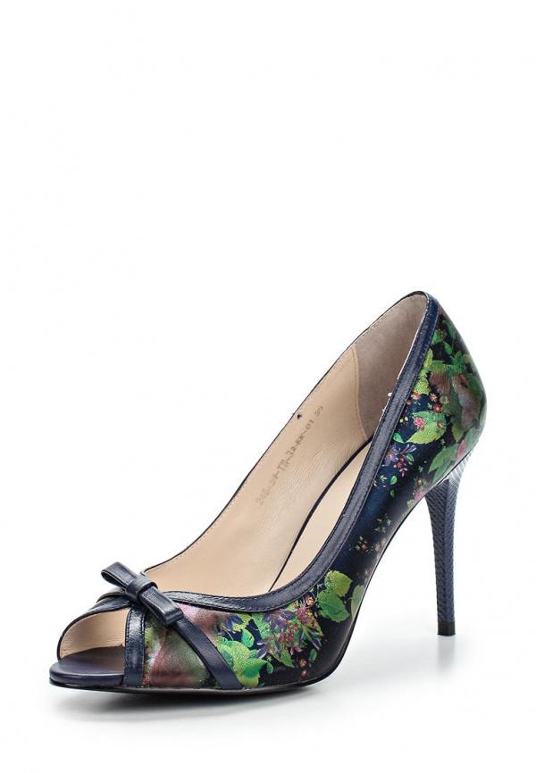 Туфли Calipso 246-21-TH-32-KK-01 зеленые, синие