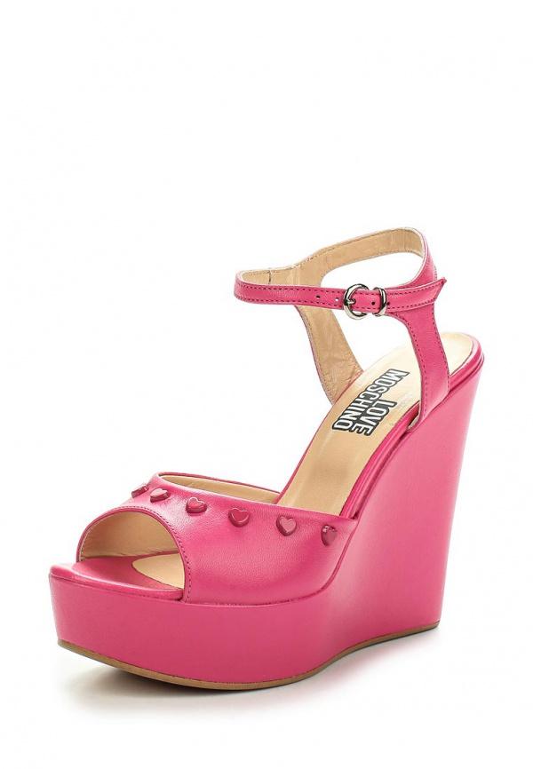 Босоножки Love Moschino JA1613CE0KJA0604 розовые