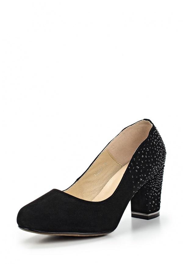 Туфли Ascalini T12218 чёрные