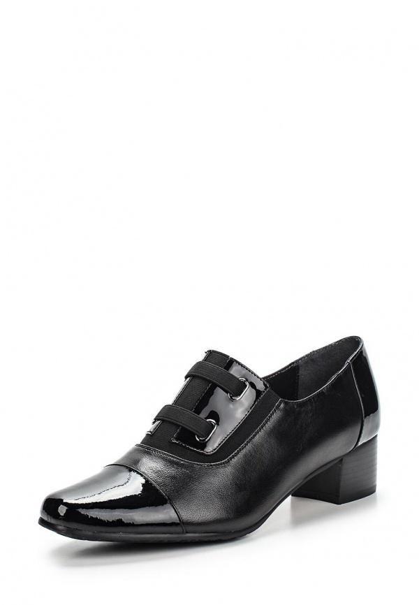 Туфли Ascalini T7764BFK чёрные