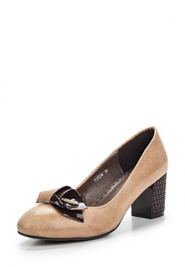 Туфли Ascalini T15324 бежевые