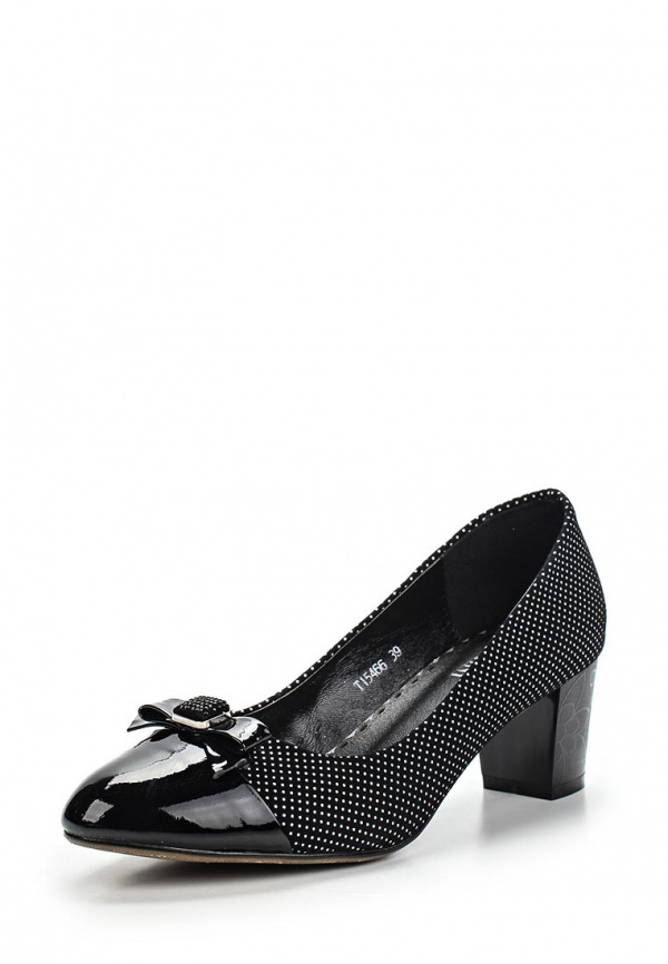 Туфли Ascalini T15466 чёрные