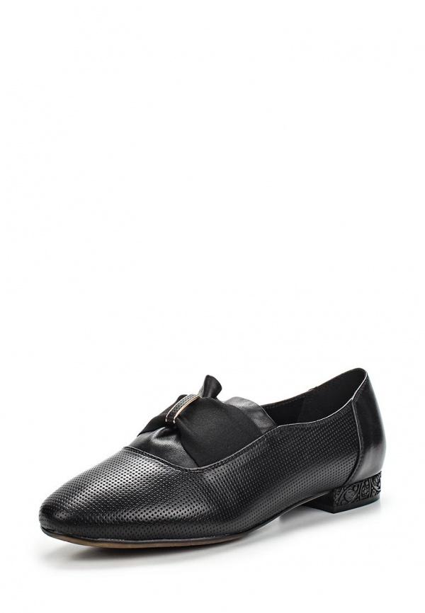 Туфли Ascalini T15479 чёрные