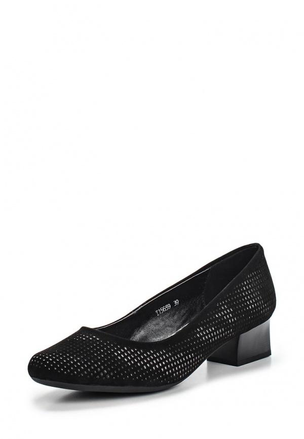 Туфли Ascalini T15659 чёрные
