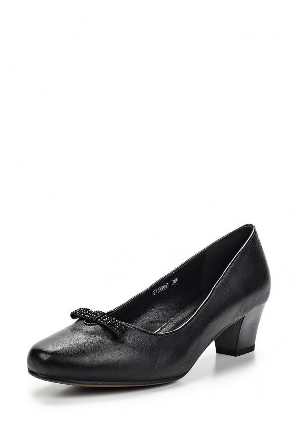 Туфли Ascalini T15697 чёрные