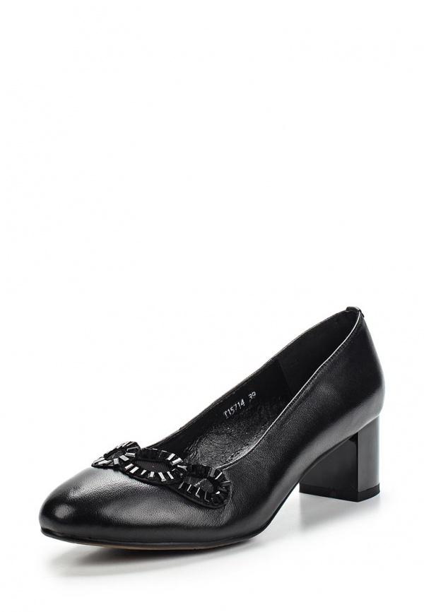 Туфли Ascalini T15714 чёрные