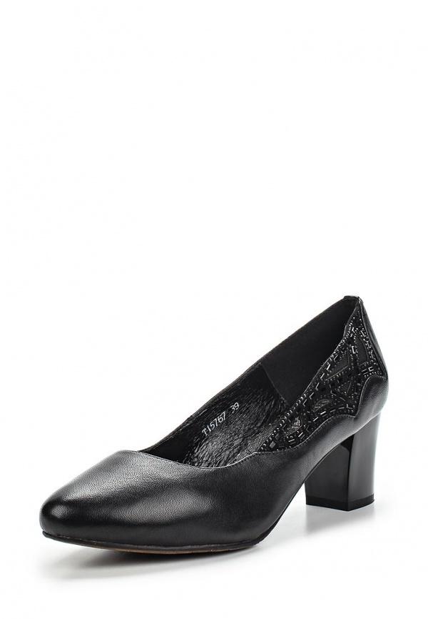Туфли Ascalini T15767 чёрные
