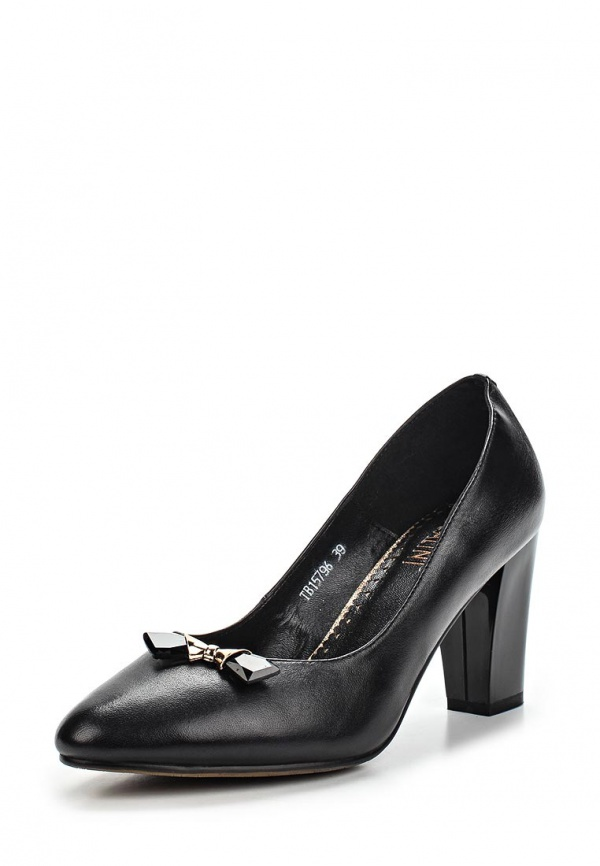 Туфли Ascalini T15796 чёрные