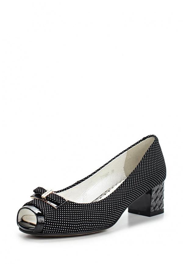 Туфли Ascalini T15942 чёрные