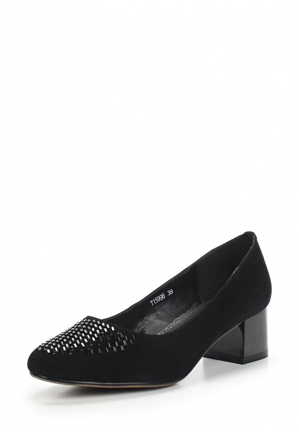 Туфли Ascalini T15998 чёрные