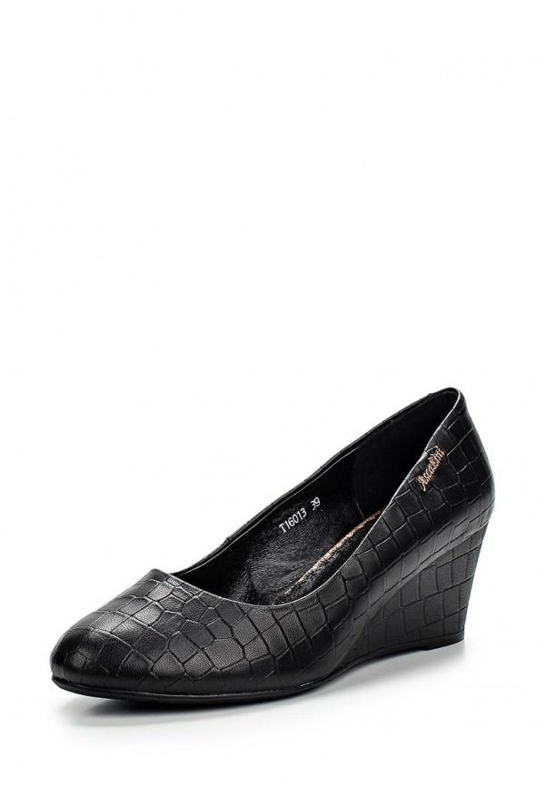 Туфли Ascalini T16013 чёрные