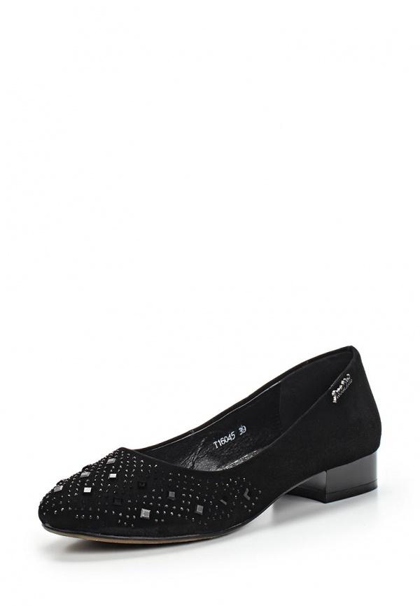 Туфли Ascalini T16045 чёрные