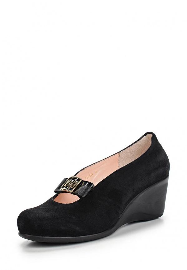 Туфли Ascalini Y1250 чёрные