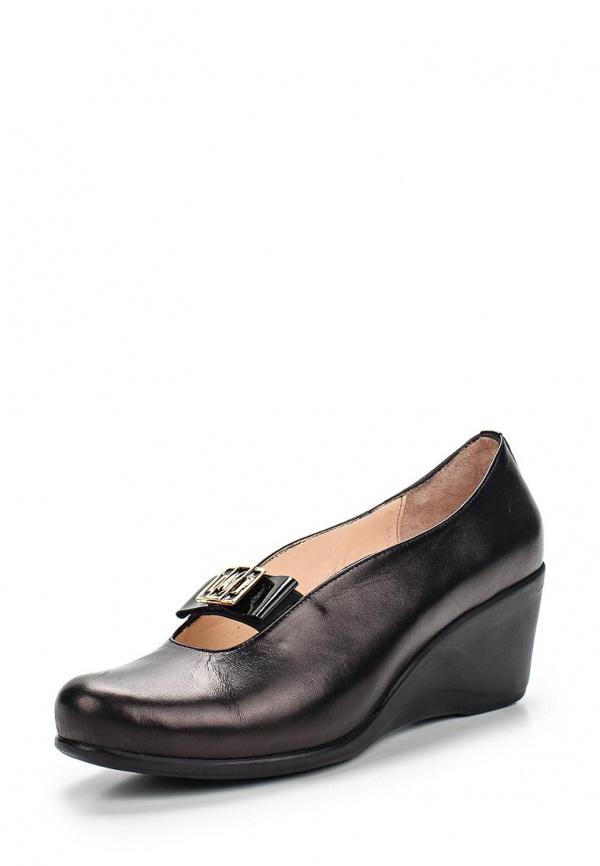 Туфли Ascalini Y1587 чёрные