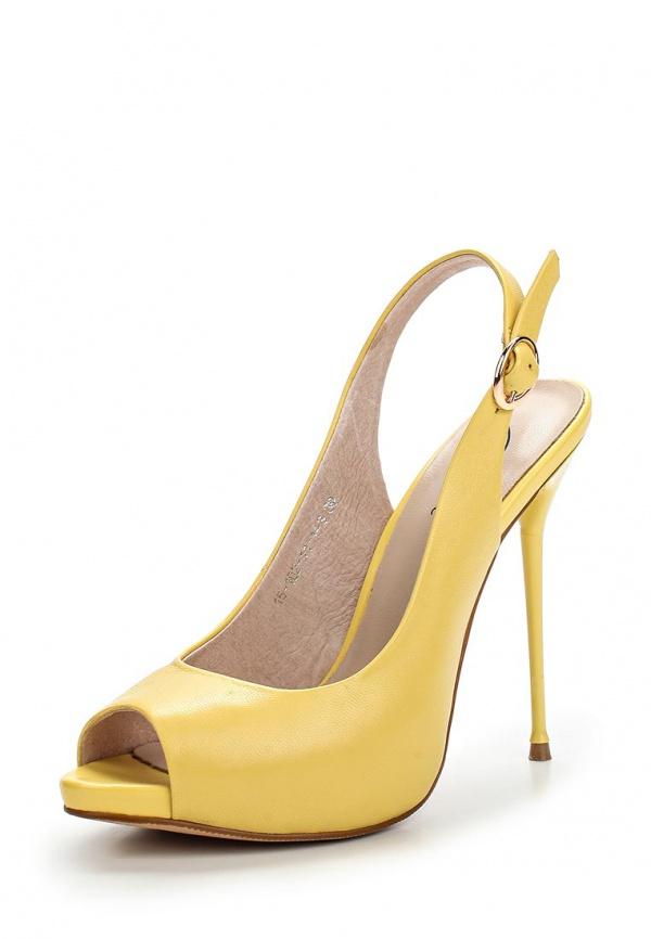 Босоножки Dali 15-102-11-1-3 жёлтые