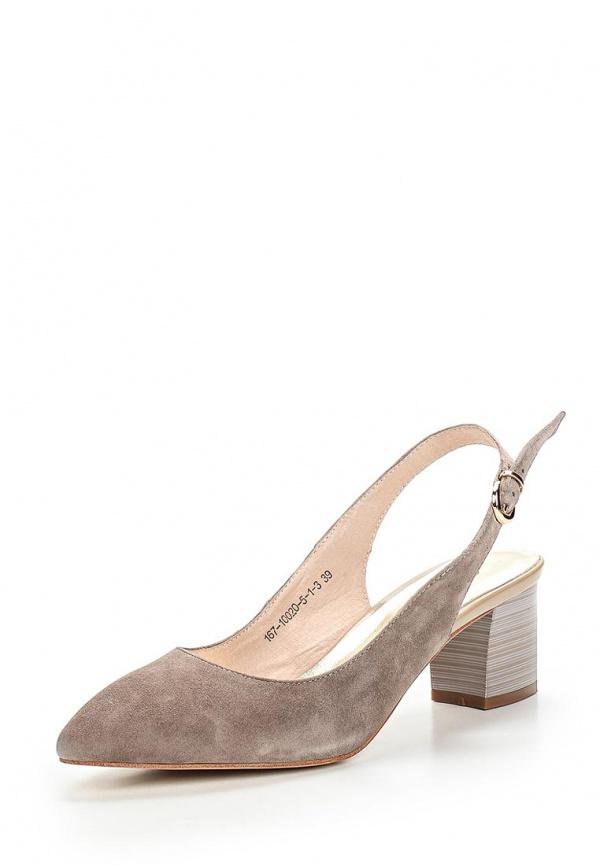 Туфли Dali 167-10020-5-1-3 серые