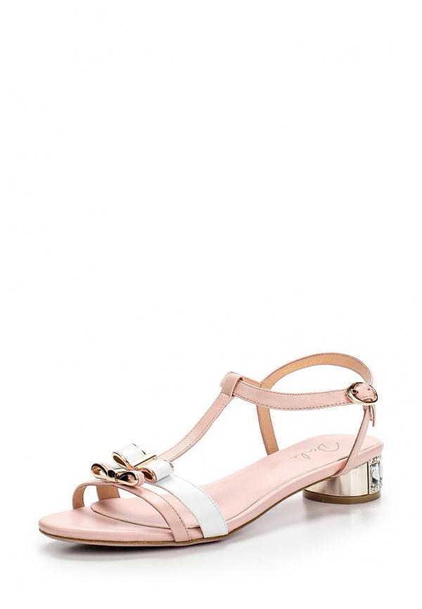 Сандалии Dali 183-402-17-1-3 белые, розовые