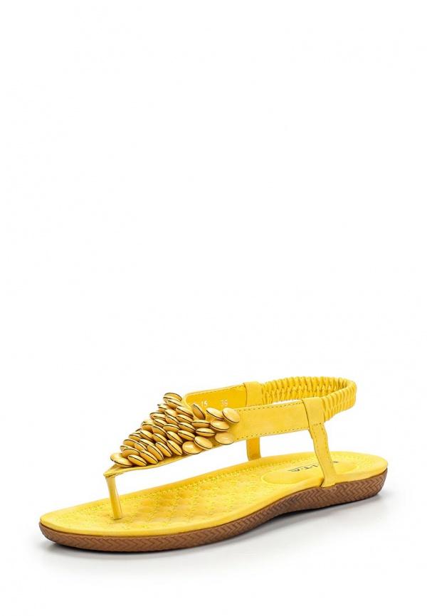 Сандалии Evita EV438-3686-8-15 жёлтые