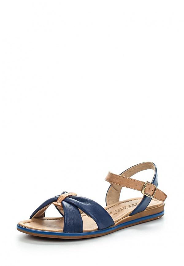 Сандалии Marco Tozzi 2-2-28223-24-890 коричневые, синие