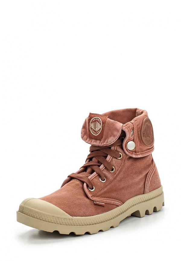 Ботинки Palladium 92353 коричневые
